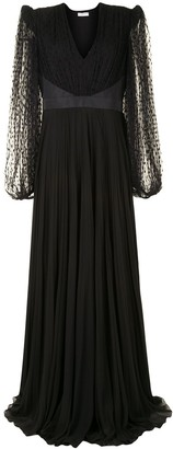 Givenchy Sheer-Lace Detail Dress