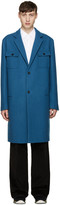 Marni Blue Wool Coat