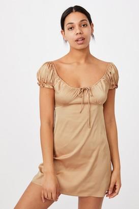 Cotton On Woven Zuri Milk Maid Mini Dress