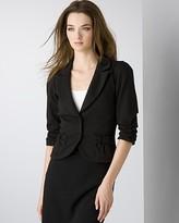 Women's 3/4 Sleeve Ponté Bow Jacket