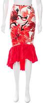 Just Cavalli Printed Midi Skirt w/ Tags