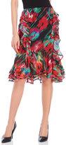 Jason Wu Watercolor Ruffle Skirt