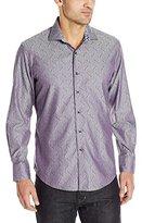 Robert Graham Men's Desert Iguana Long Sleeve Button-Down Shirt