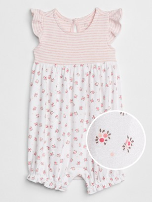 Gap Baby First Favorite Print Flutter Shorty One-Piece
