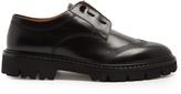 Maison Margiela Tread-sole leather derby shoes