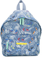 Stella McCartney skate print backpack