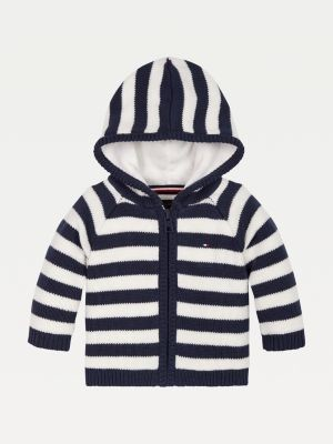 Tommy Hilfiger Stripe Hooded Cardigan