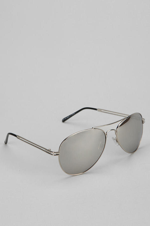 Urban Outfitters New Mirrored Aviator Sunglasses