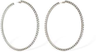 Area LARGE CLASSIC ROUND HOOP EARRINGS