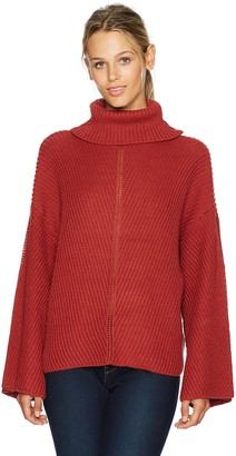 Cupcakes And Cashmere Women's Randy Turtleneck Dolman Sweater