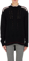 Isabel Marant Women's Edison High-Low Sweater-BLACK