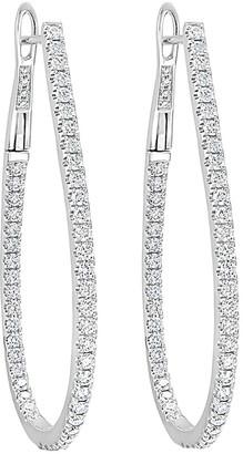 Sabrina Designs 14K 1.60 Ct. Tw. Diamond Hoops
