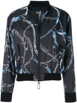 Versus patterned bomber jacket