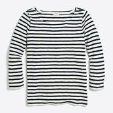 J.Crew Factory Striped three-quarter sleeve T-shirt