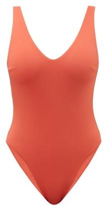 Haight Leticia V-neckline Swimsuit - Womens - Orange