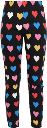 Wildfox Couture Printed French Cotton-terry Track Pants