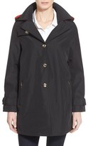 Larry Levine Women's A-Line Raincoat
