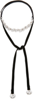 Noir Cold Hearted Choker Necklace