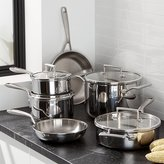 Crate & Barrel KitchenAid ® 10-Piece Copper Core Cookware Set