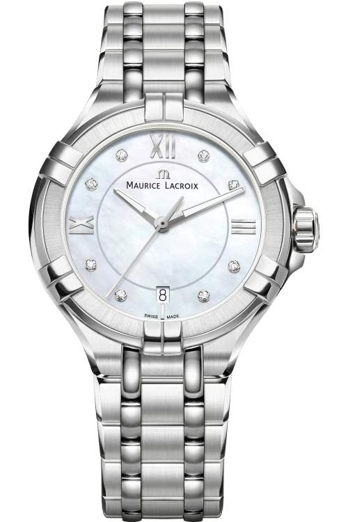 Maurice Lacroix Ladies Aikon Diamond Watch AI1006-SS002-170-1