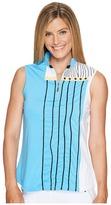 Jamie Sadock - Embroidered Sleeveless Top Women's Sleeveless