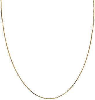 Adina's Jewels 14k Gold Box Chain Necklace
