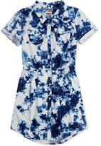 Levi's Cotton Denim Western Dress, Big Girls