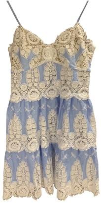 Miguelina Blue Linen Dress for Women