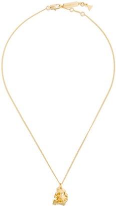 Coup De Coeur Vortex Stone short pendant necklace