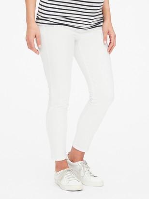 Gap Maternity Inset Panel True Skinny Ankle Jeans