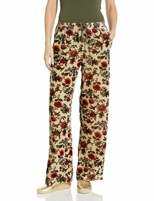 For Love and Liberty Women's Velvet Drawstring Pants