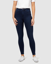 Thumbnail for your product : Jeanswest Women's Blue Skinny - Freeform 360 Contour Skinny 7-8 Jeans Midnight - Size One Size, 12 Regular at The Iconic
