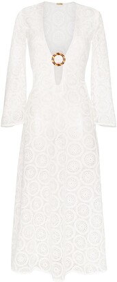 Dodo Bar Or Jane V-neck crochet lace dress