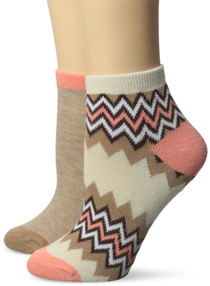 Koi Women's Novelty Socks with Fun Print Designs Two Pack