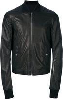 Rick Owens bomber jacket - men - Cotton/Cupro/Virgin Wool/Lamb Nubuck Leather - 50