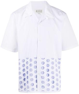 Maison Margiela Polka Dot Print Shirt