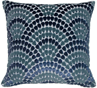 Piper Collection Landis Pillow, Blue