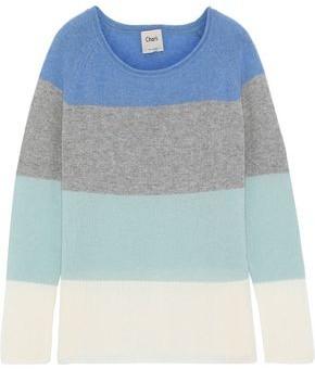 Charli Calla Color-block Cashmere Sweater
