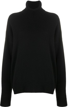 AMI Paris Turtleneck Oversized Jumper