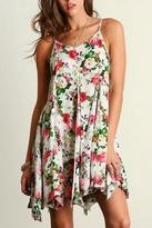 Umgee USA Floral Pleated Dress