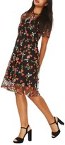 Dorothy Perkins Women's Floral Embroidered Dress