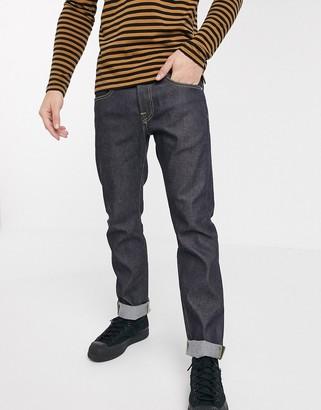Edwin ED55 regular tapered fit jeans in raw denim