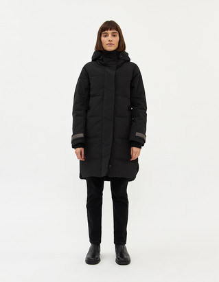 Canada Goose Women's Bennet Parka Jacket in Black, Size Extra Small | Fleece