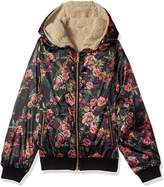Jessica Simpson Big Girls' Midweight Cozy Bomber Jacket