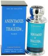 Yves de Sistelle Thallium Anonymous Eau De Toilette Spray for Men (3.3 oz/97 ml)