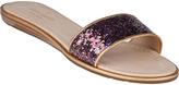 Kate Spade Tulip Slide Sandal Multi Glitter