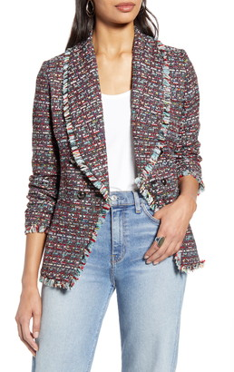 Halogen Shawl Collar Tweed Blazer