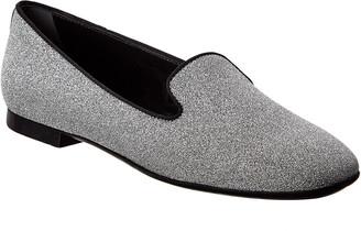 Tod's TodS Glitter Leather Ballerina Flat