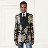 Ralph Lauren Tate Silk Tuxedo Jacket