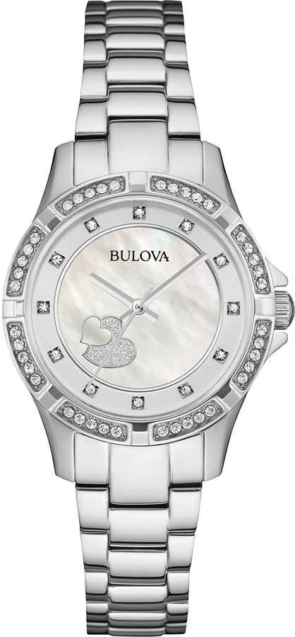 Bulova Women's 96L226 Timeless Diamond Dial Quartz Watch